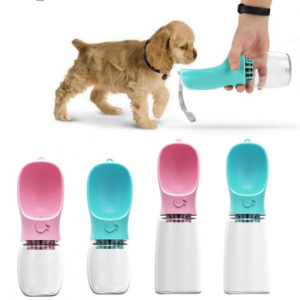 Pet Cups Drinking Bottle Dog Cat Health Feeding Water Feeders Pet Travel Cups ABS Drinking Products